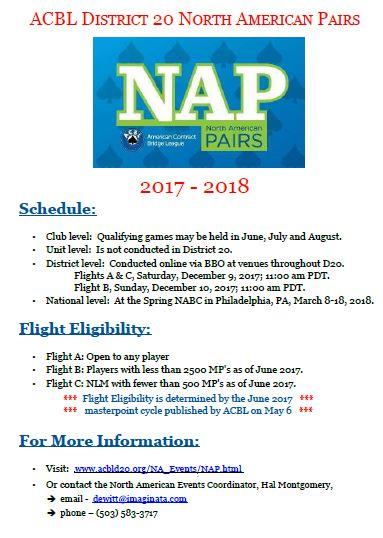 NAP flyer